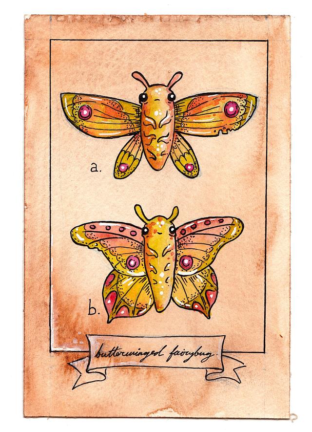 Butterwinged Fairybug by Shing Yin Khor