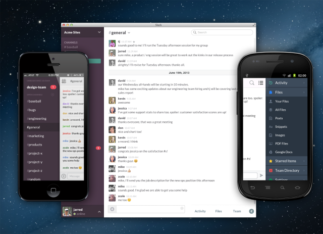 Slack Screen