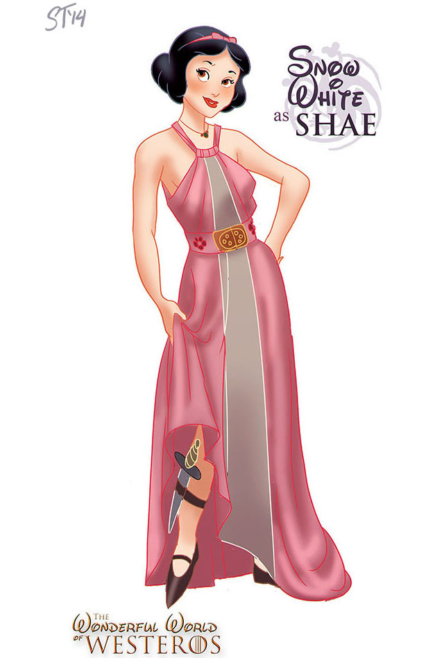 Snow White as Shae