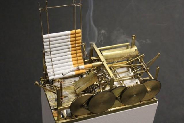 The Smoking Machine