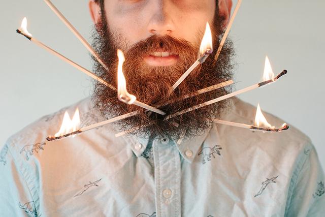 Beard and Flame