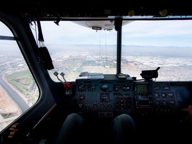 Riding Aboard a Goodyear Blimp