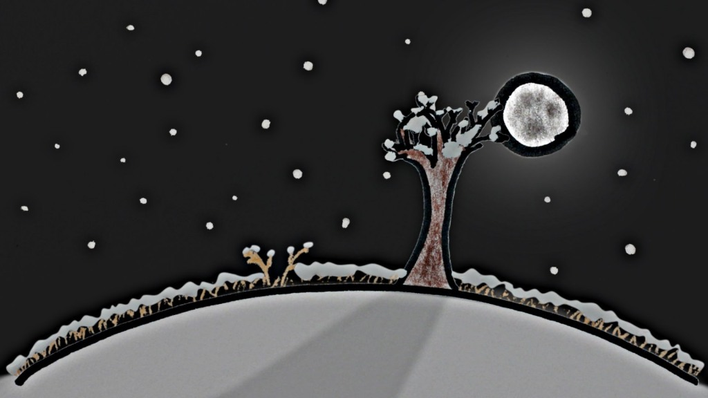 Why The Full Moon Is Better In Winter by Minute Physics