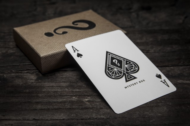 J.J. Abrams Mystery Box Playing Cards