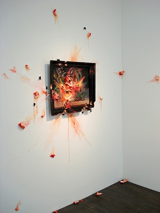 Decaying Sculptures by Valerie Hegarty