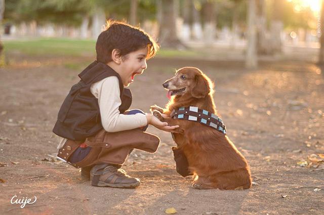Chewbacca and Friends