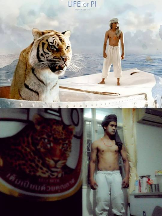 "Piscine Molitor ""Pi"" Patel and  Richard Parker - Life of Pi"