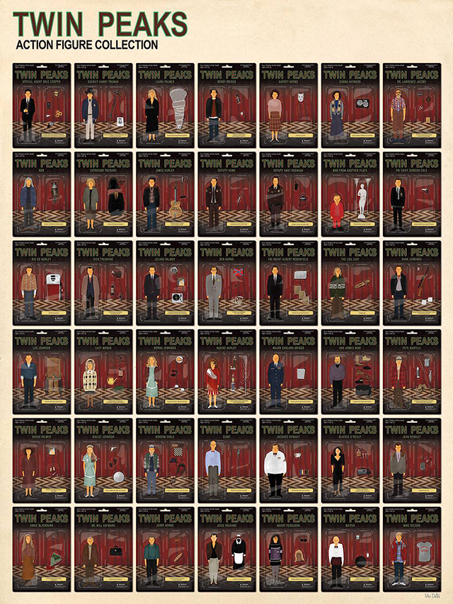 Twin Peaks Action Figure Collection by Max Dalton