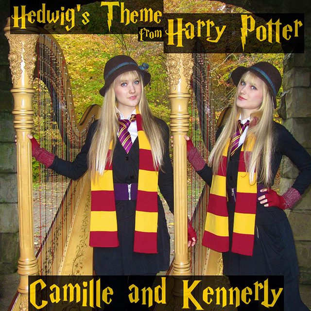 The Harp Twins Perform a Magical Cover of the Main 'Harry Potter' Theme Song