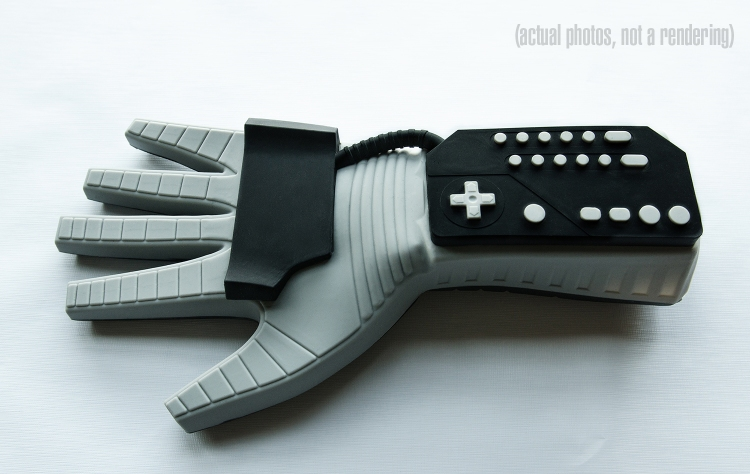 The Power Mitt, A Silicone Oven Mitt Based on the Nintendo Power Glove