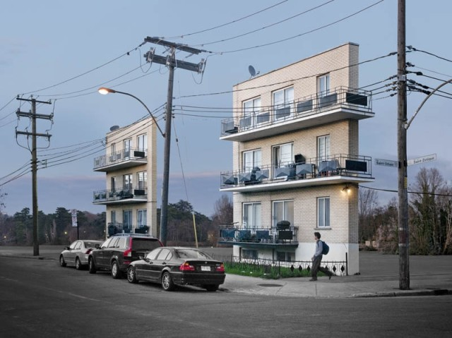 Facades by Zacharie Gaudrillot-Roy