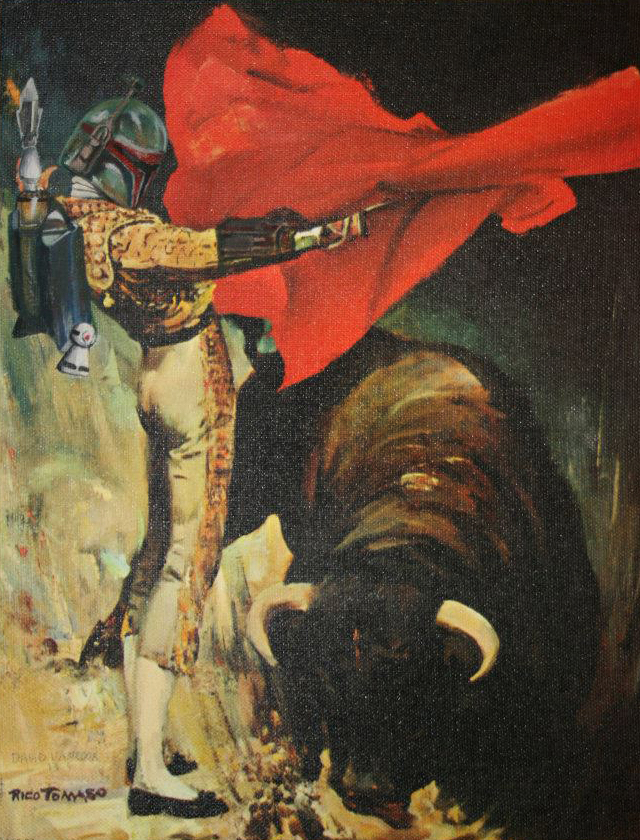 Star Wars Thrift Store Paintings