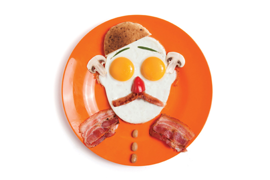 Gregg's Fried Eggs Shaper
