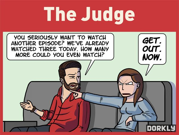 The 7 Most Annoying People To Watch TV With