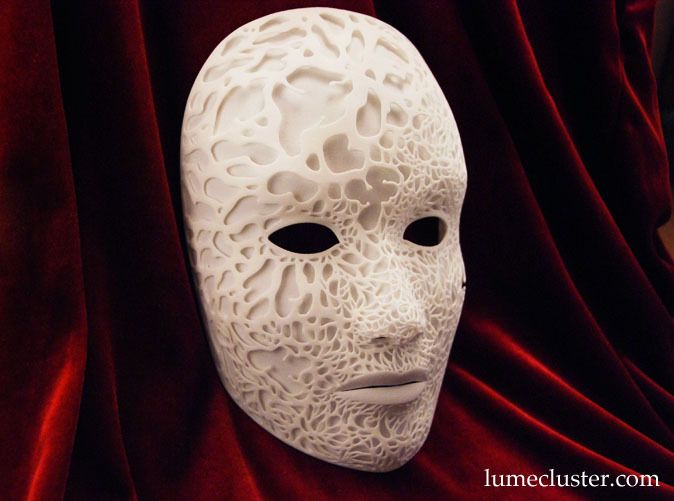 Intricately Detailed 3D-Printed Masks