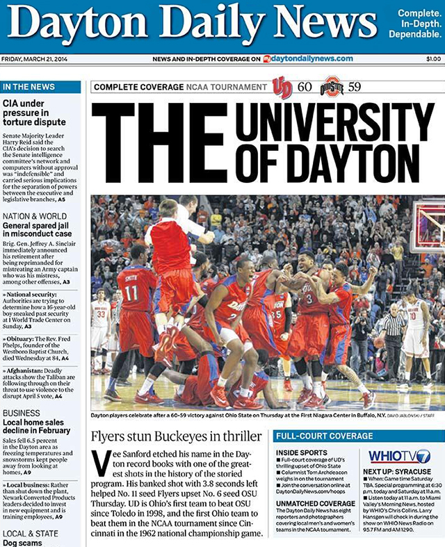 Dayton Daily News Mocks Ohio State with 'THE University of ...