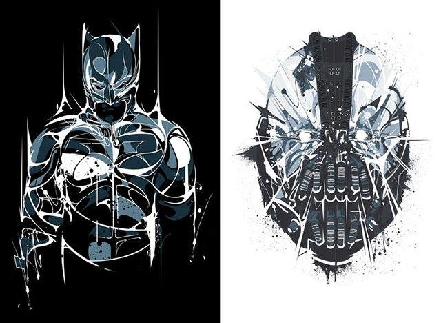 Dark Knight Series by Samuel Ho