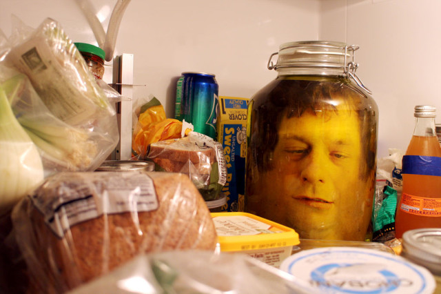 How to Make a Realistic Looking Human Head in a Jar