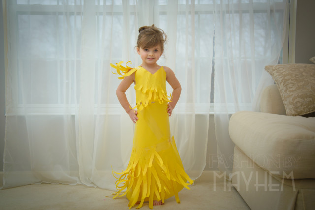 FashionbyMayhem - Yellow Dress