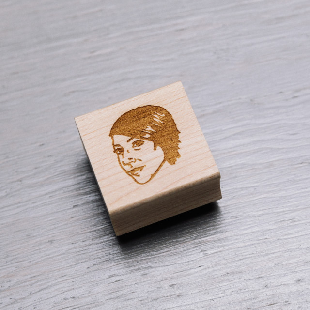 Custom Portrait Stamps by Stamp Yo Face
