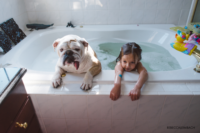 Harper and Lola (Bathtub Edition)