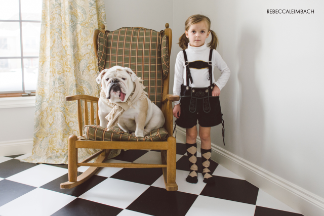 Harper and Lola (Lederhosen Edition)