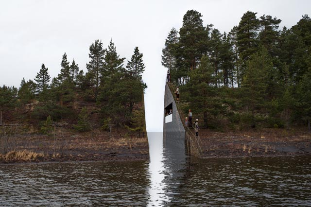 Memory Wound Memorial by Jonas Dahlberg