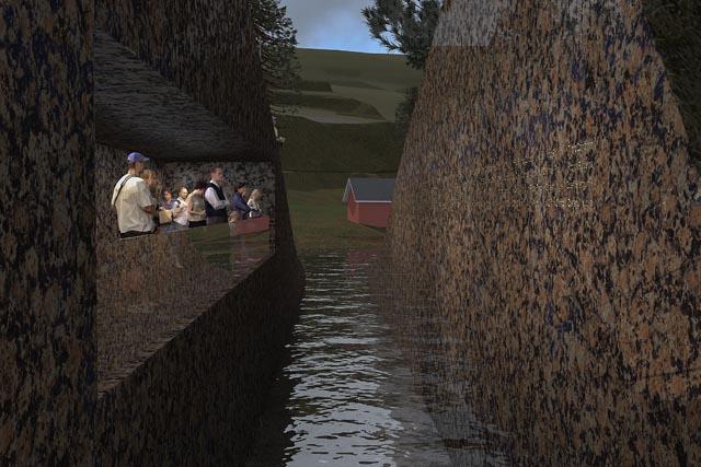 Memory Wound Memorial by Jonas Dahlberg