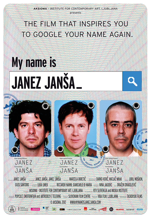 My Name Is Janez Jansa