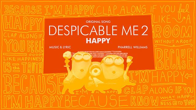 Despicable Me 2 - Best Original Song Nominee