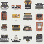 A Visual Compendium of Typewriters by Pop Chat Lab, An Art Print Featuring 60 of the Greatest Typewriters