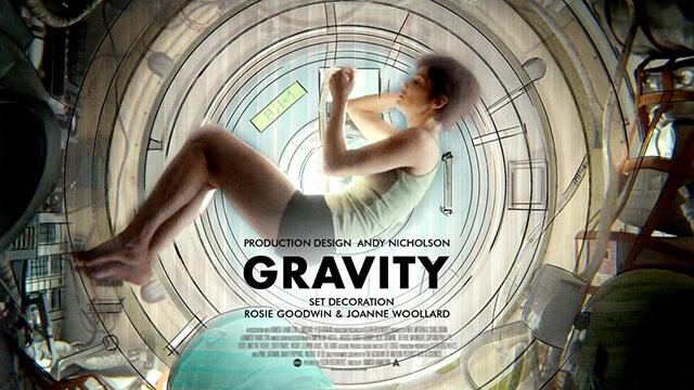 Gravity - Best Production Design Nominee