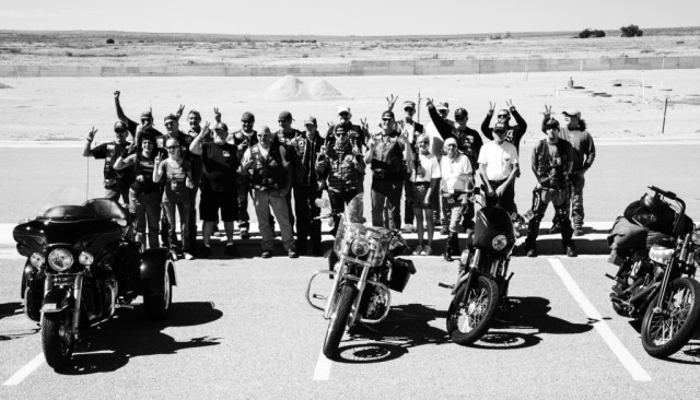 Project 22 Awareness Ride NM - TX