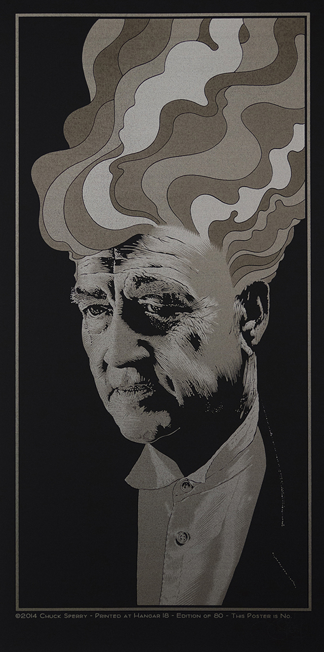 In Dreams, David Lynch (satin black) by Chuck Sperry