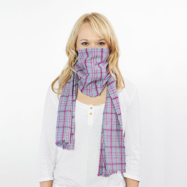 Scough - Pink and Gray Flannel
