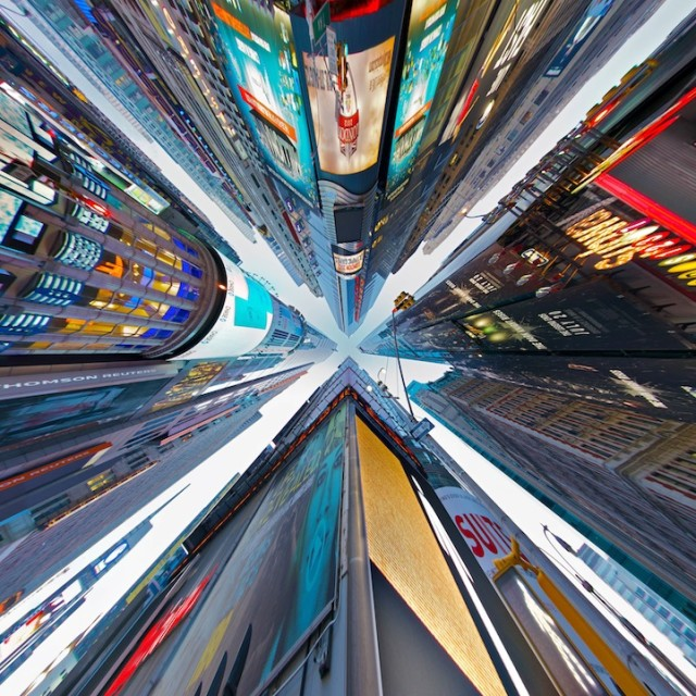 Distorted Panoramas by Randy Scott Slavin