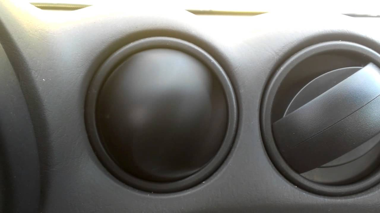 Aging Pontiac Grand Am Has An Air Vent That Gyrates Wildly When Vent Is Turned On