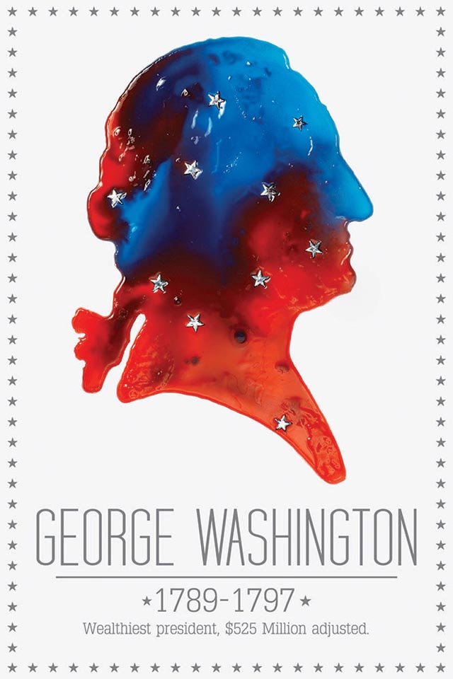 Jello Presidents by Henry Hargreaves