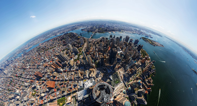 One World Trade Center Panorama