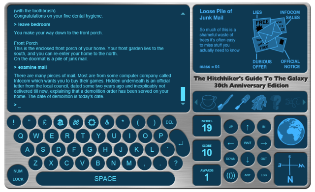 The Hitchhiker's Guide to the Galaxy Video Game