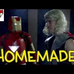 Homemade Remake of the Epic Fight Scene Between Iron Man, Thor, and Captain America in 'The Avengers'