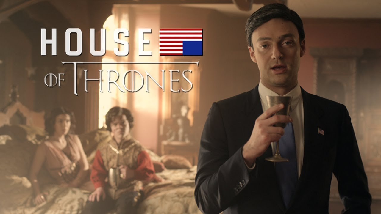 House of Thrones, Frank Underwood Ravages Westeros in a 'House of Cards' Meets 'Game of Thrones' Parody
