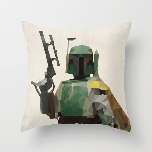Boba Fett Star Wars Pillow Cushion Cover