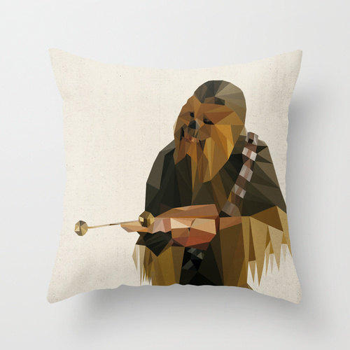 Chewbacca Star Wars Pillow Cushion Cover