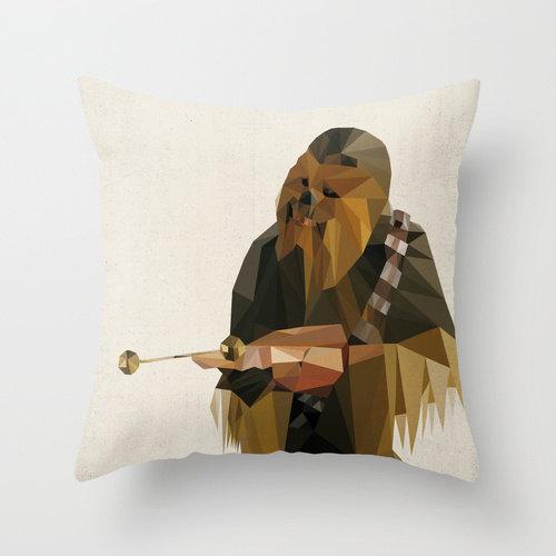 Chewbacca Star Wars Pillow Cushion Cover