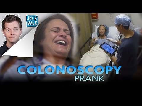 Jack Vale Surprises Colon Screening Patients by Showing Them Weird Objects That He Found in Their Butts