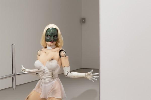 Jordan Wolfson Animatronic Sculpture