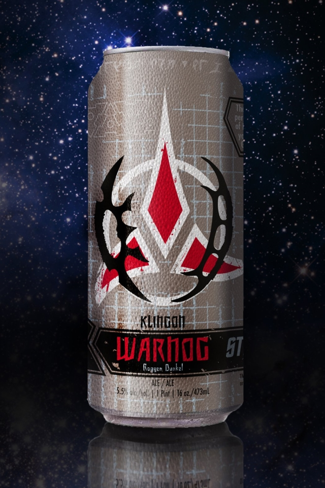 Klingon Warnog, An Official 'Star Trek'-Themed Dunkelweizen Beer From the Federation of Beer