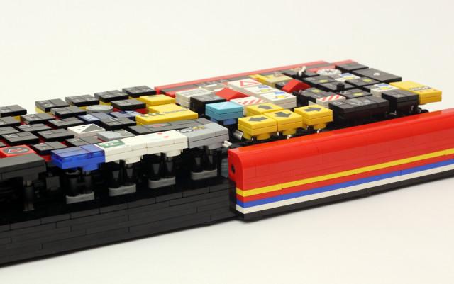 LEGO Keyboard Angle