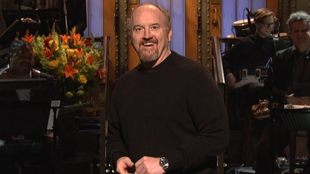 Louis C.K. Hosts 'Saturday Night Live', Kicking Things Off With a Hilarious 9-Minute Opening Monologue